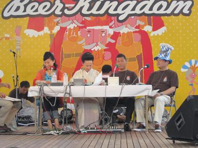 御殿場高原ビールのお祭りビアキングダムに参加中!